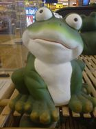 Den Frosch Finde ich ganz WItzig