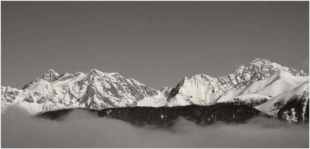 Den Nebel durchdrungen