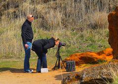 Den Outdoor Workshop Geile Fotos mit Model Sabrina hatte Viktor sich nich so vorgestellt…