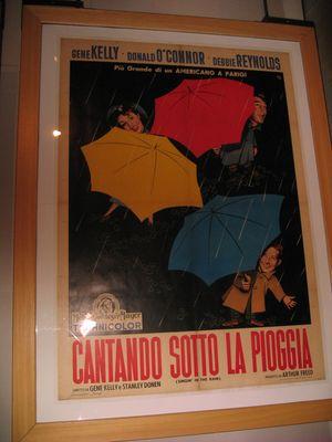 den Regenschirm nicht vergessen.....