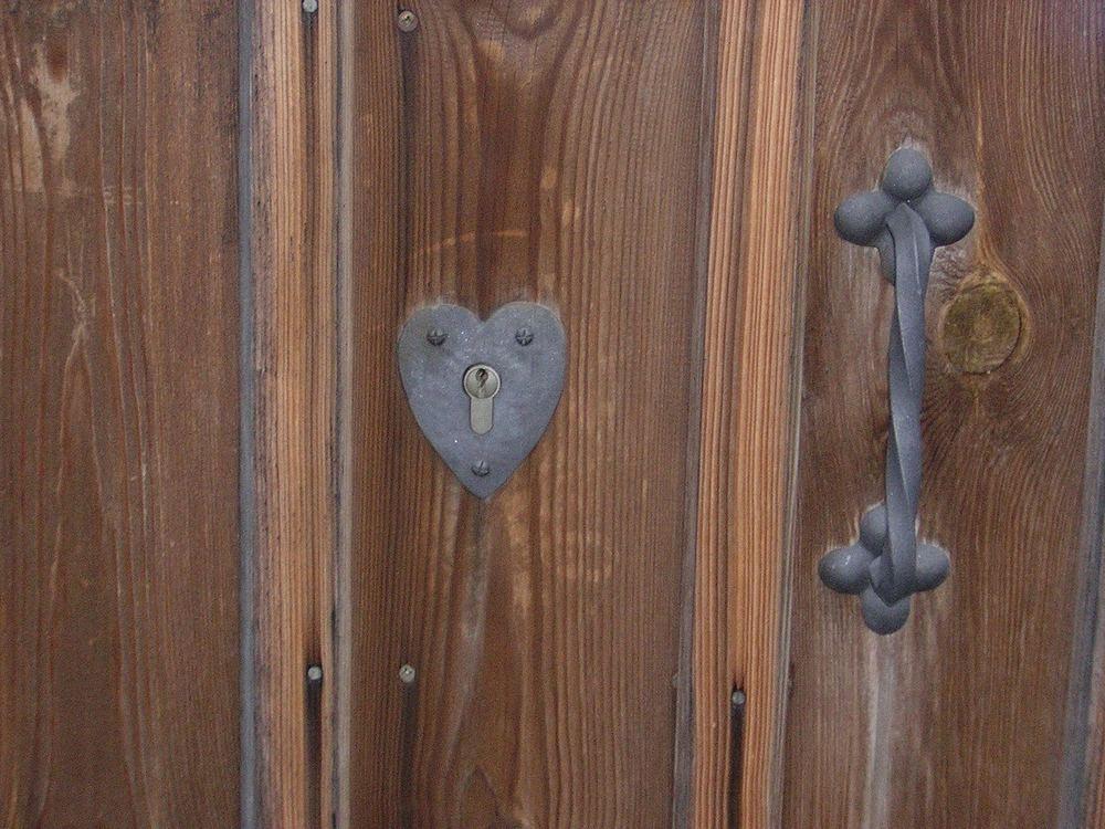 Den Schlüssel zum Herzen ....