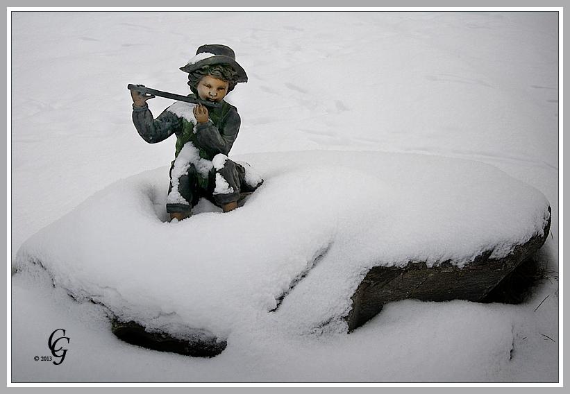 Den Schnee wegflöten 1