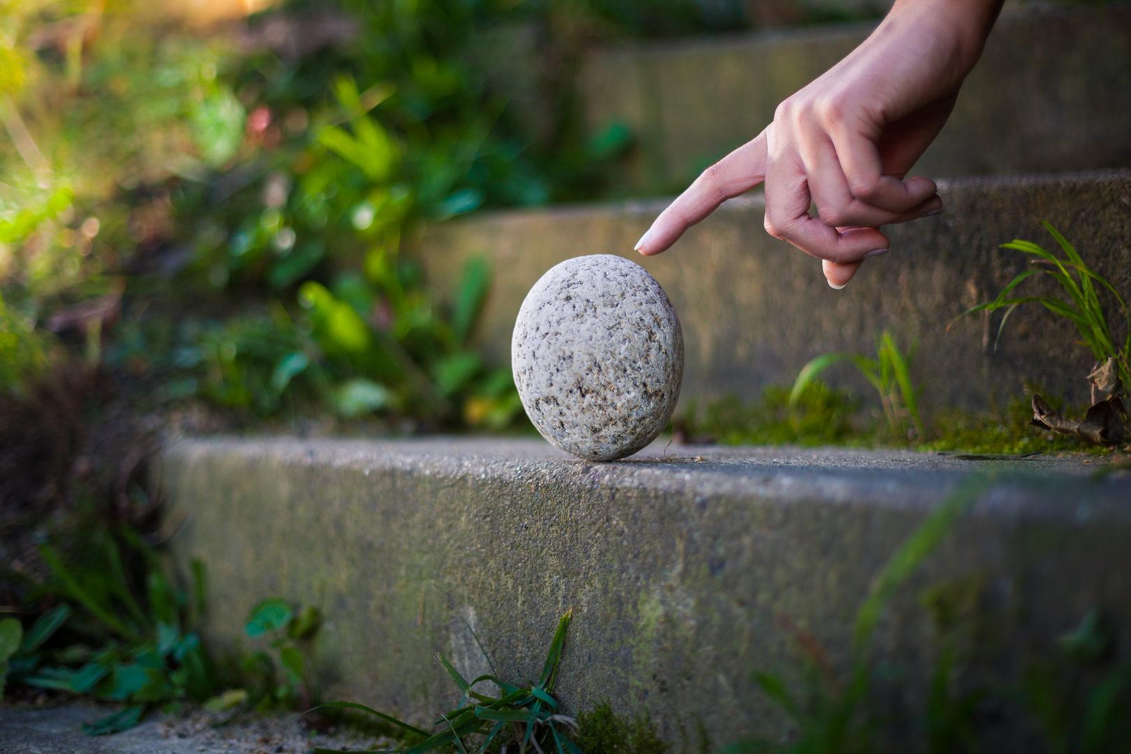 Den Stein ins Rollen bringen ...