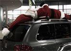 ... den Weihnachtsmann erschlagen und abtransportiert ...