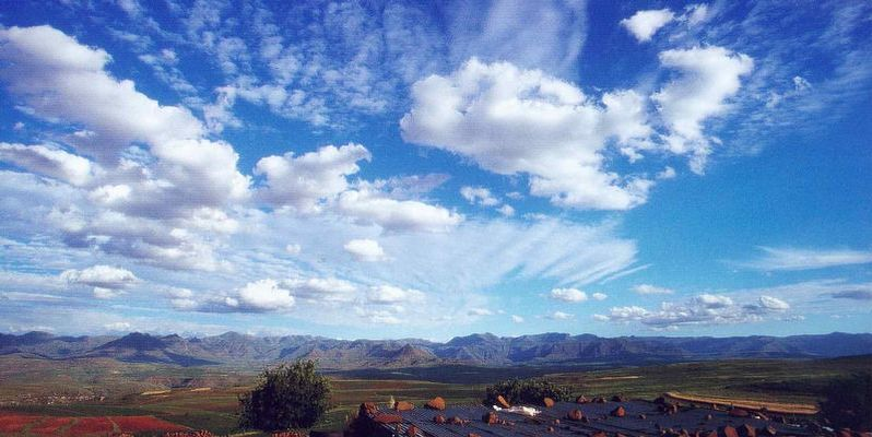 den Wolken ganz nah