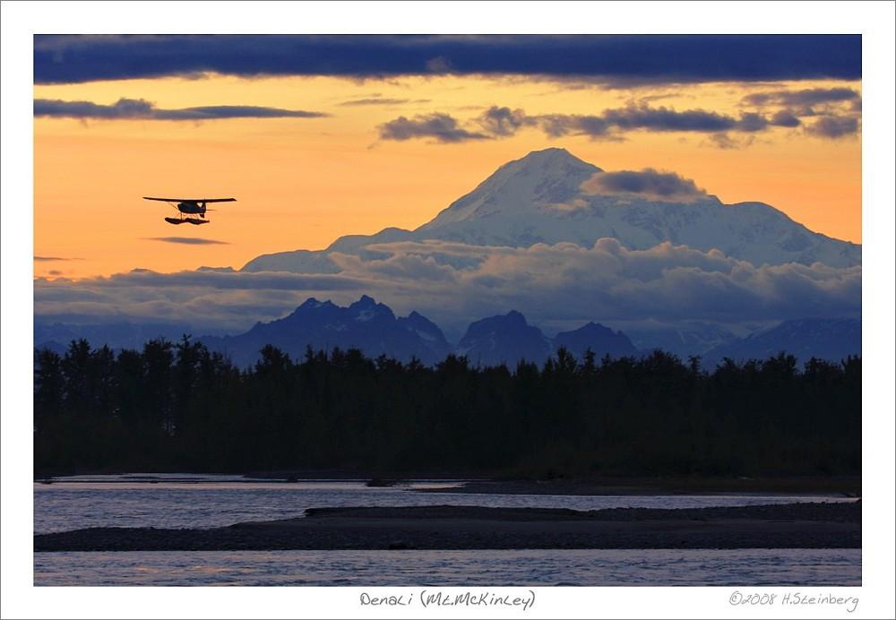Denali / Mt. McKinley & Wasserflugzeug