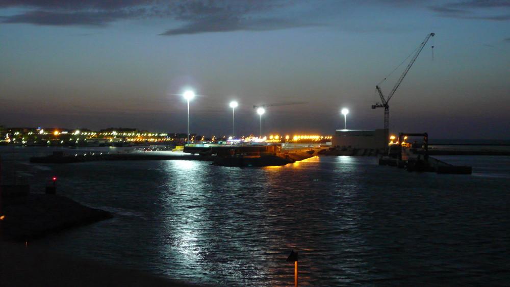 Denia bay night