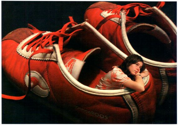 Denise im Schuh