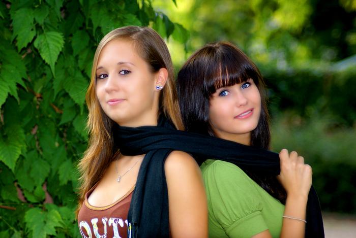 Denise und Franzi