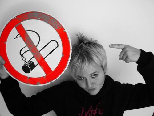 denk gar nicht erst dran hier zu rauchen...