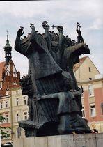 Denkmal am Markt von Bydgoszcz zum Blutsonntag am 03.09.1939