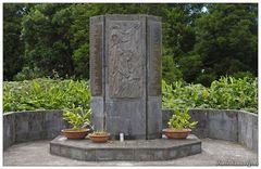 Denkmal am Pico Alto (Santa Maria, Azoren)