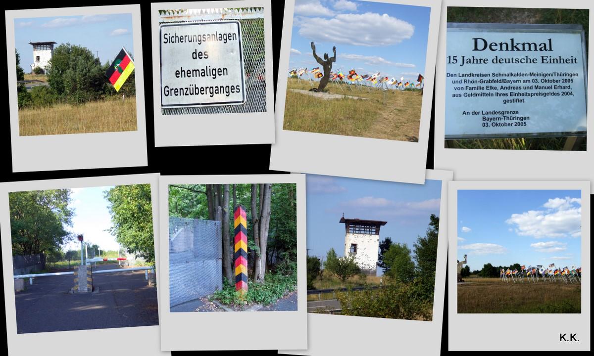 Denkmal deutsche Einheit zum 13. August