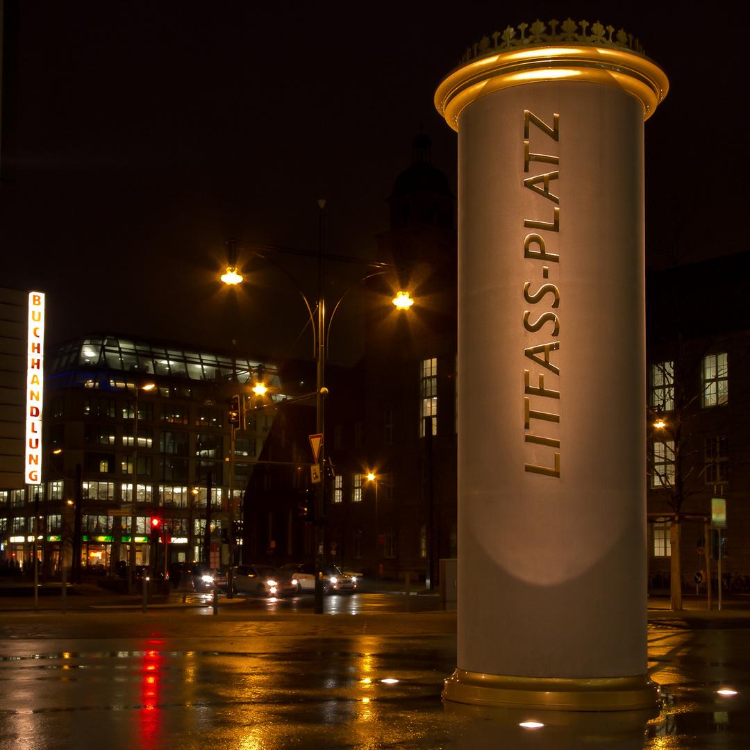 Denkmal für einen berühmten Berliner