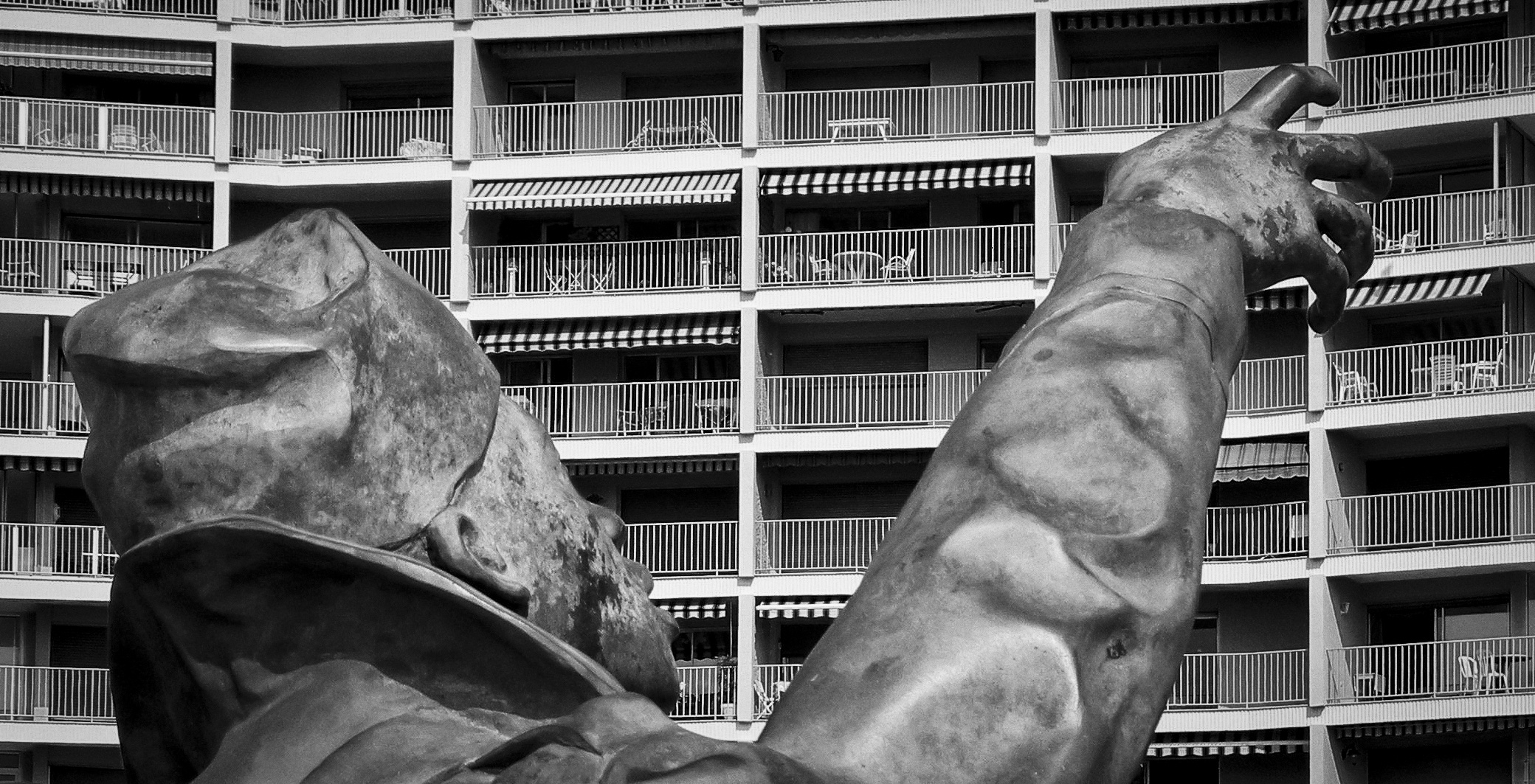 Denkmal für Fassadenkletterer?