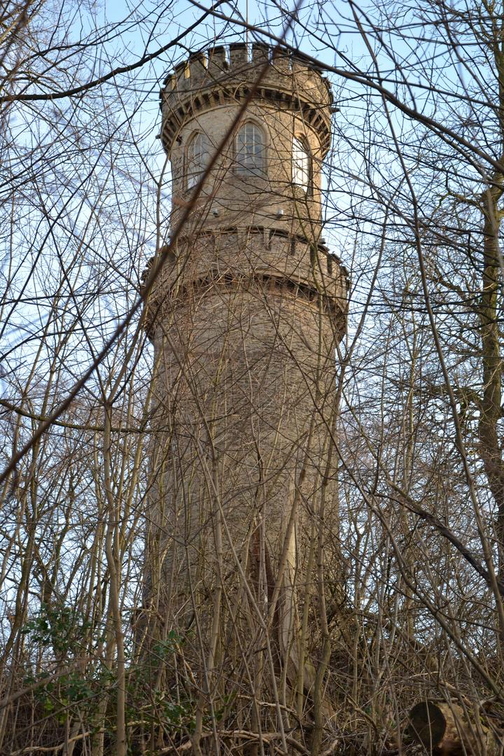 Denkmal geschützter Turm