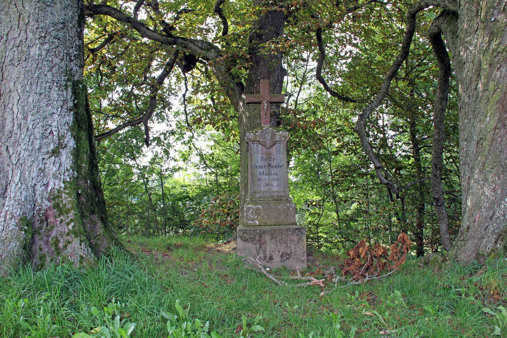 Denkmal in Ochenhausen bei Wanderung um den Krumbach 2