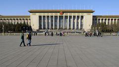 Denkwürdiger Ort - Die große Halle des Volkes am Tian an Men-Platz