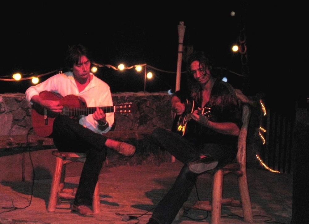 Denn früher spielten hier ... die Dos Guitarras, Mona de Lis u.a.