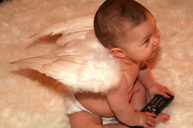 Dennis als Engel