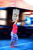 denpasar market frueh am morgen....