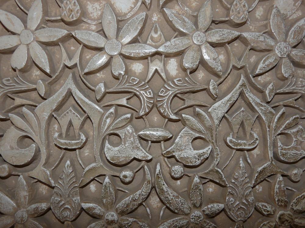 Dentelle ou mur l'Alhambra ??? Voyage en Andalousie JUIN 2008