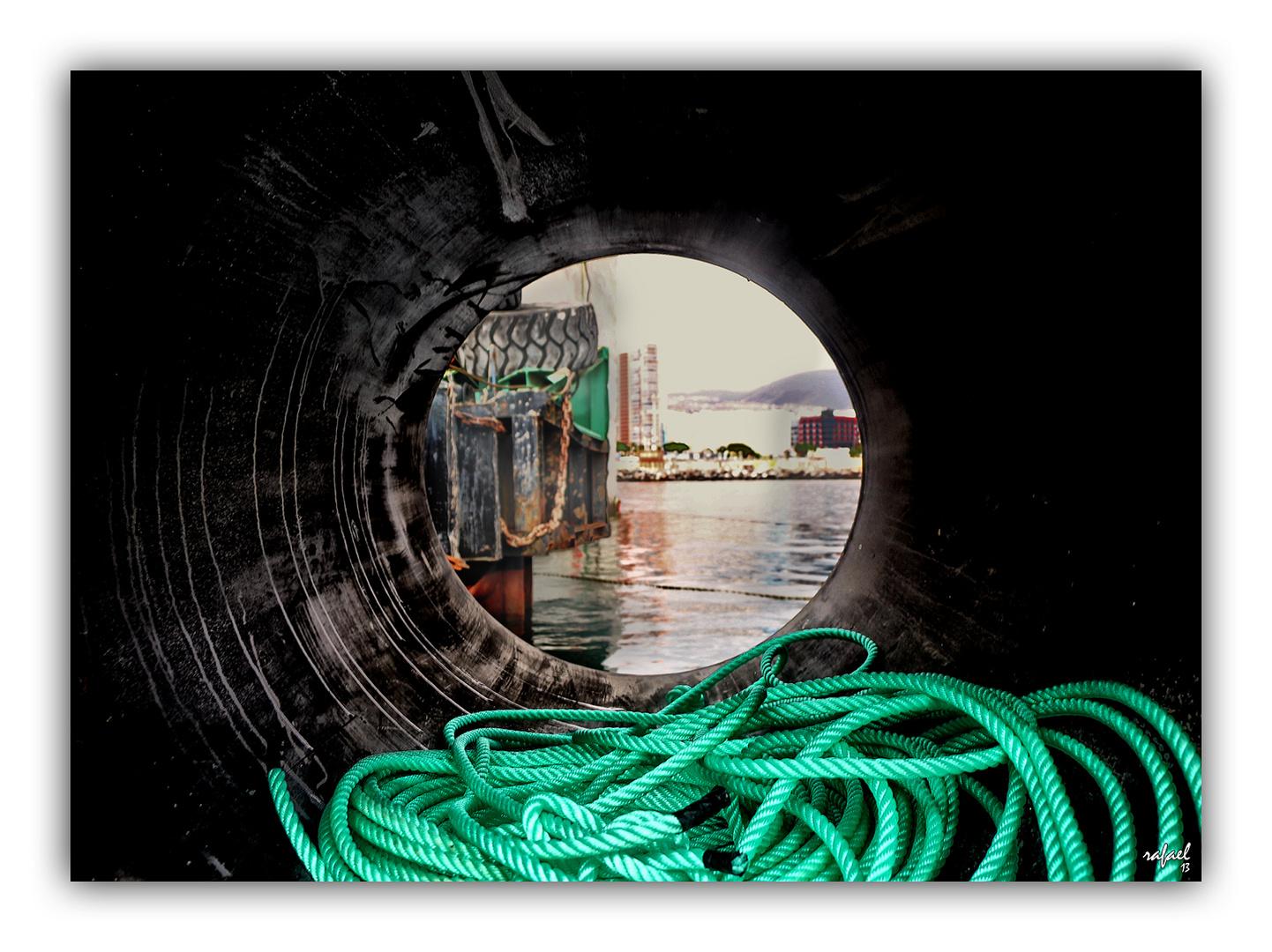 Dentro del túnel