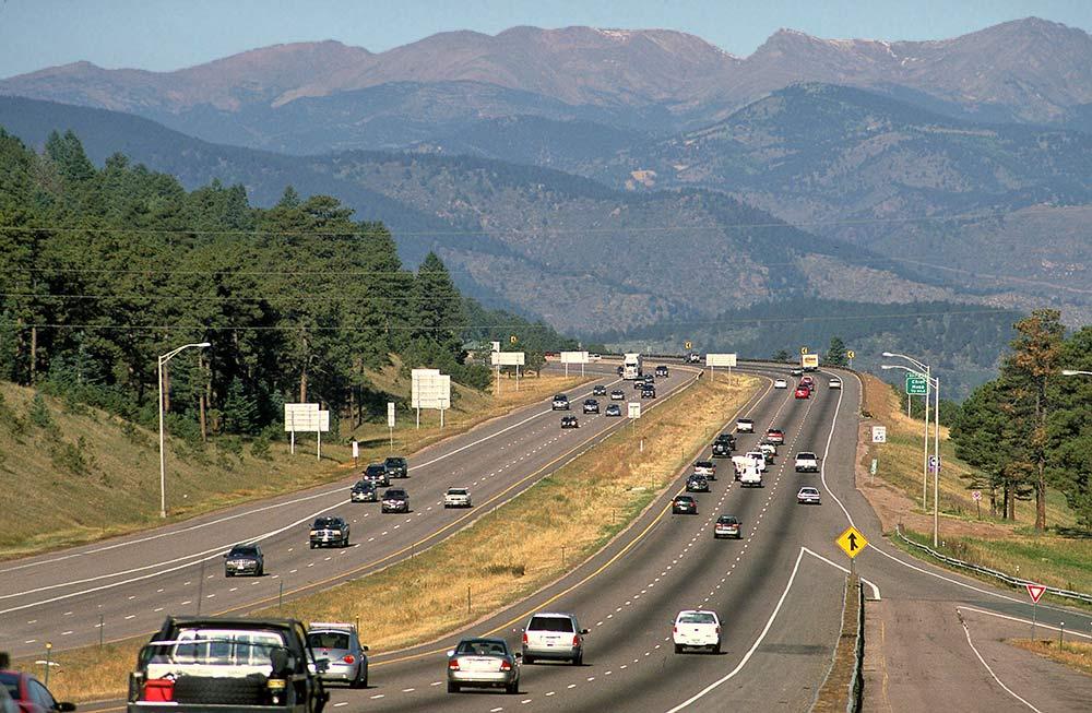 Denver Highway 70 West