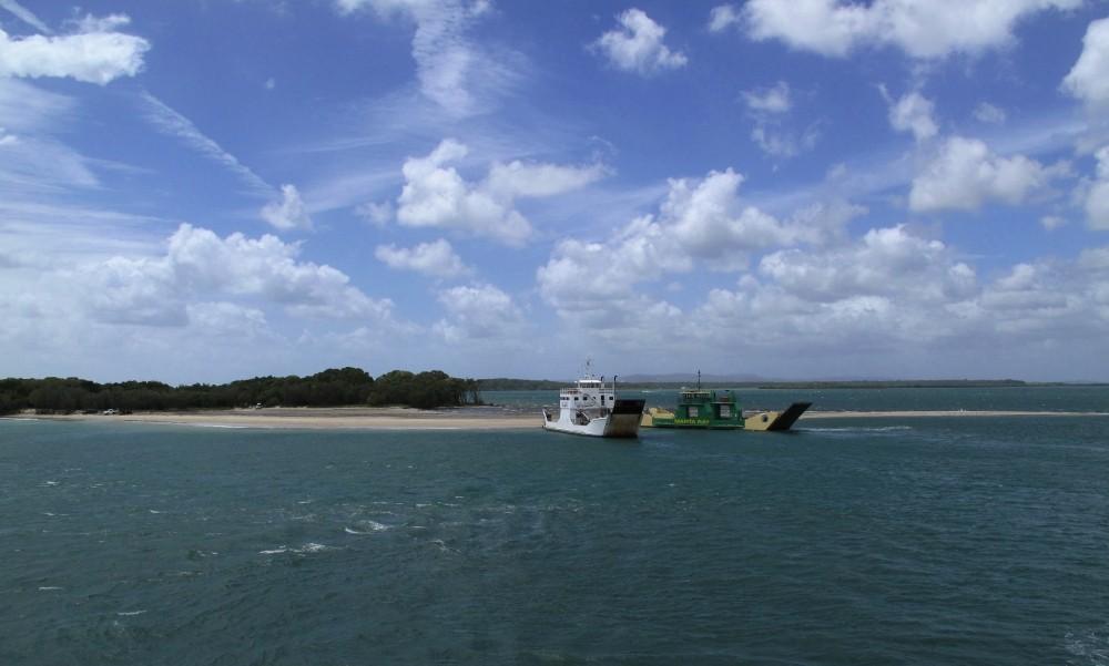 Departing to Fraser-Island