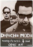 Depeche Mode Live in Leipzig auf der Festwiese 2006 (Scan)