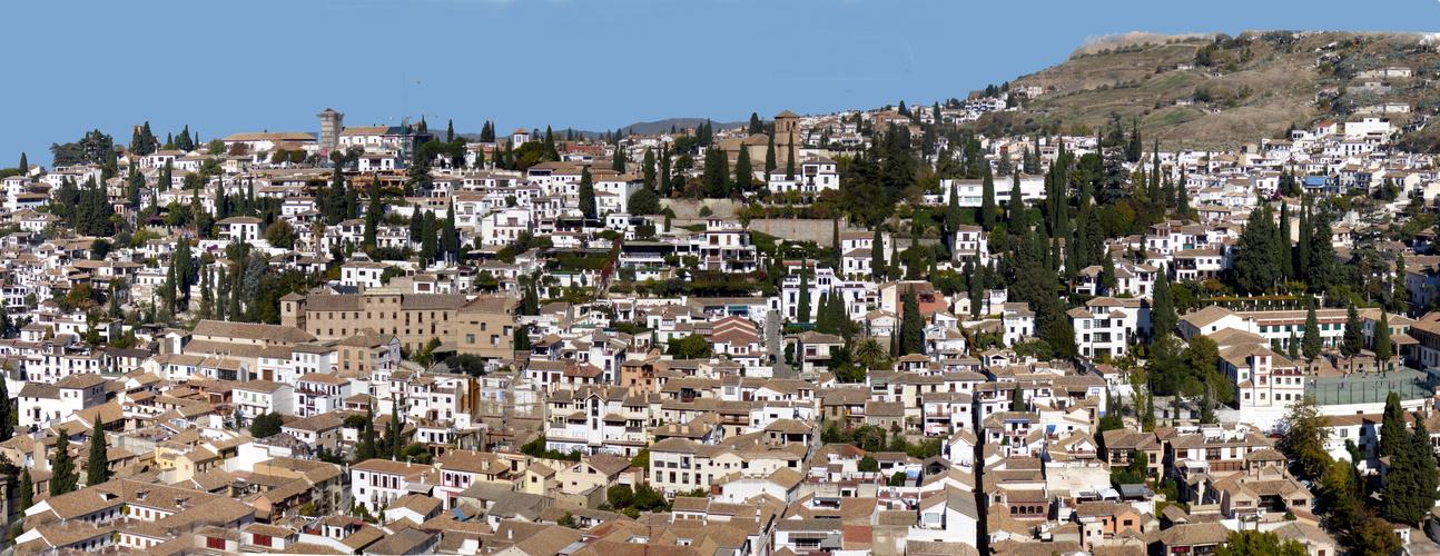 depuis l'Alhambra