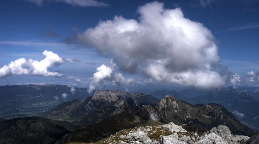 Depuis le mont Trelod