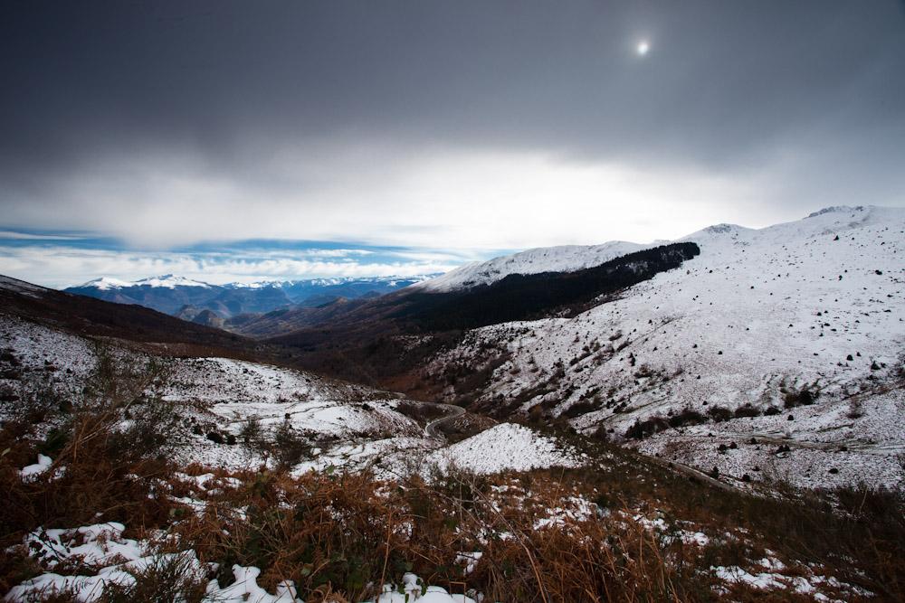 Depuis le Roc Blanc (Ariège)