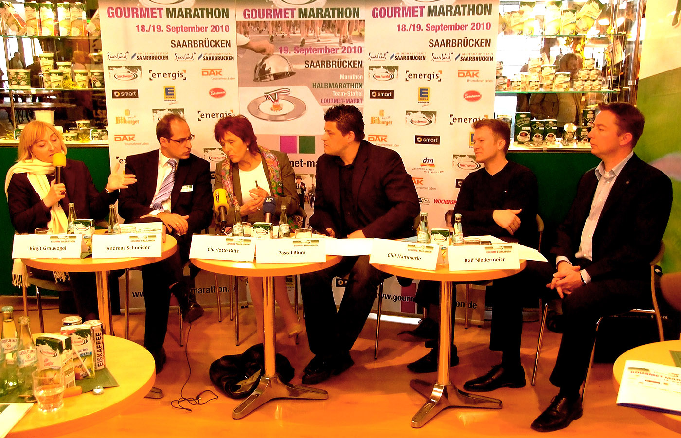 Der 1. Deutsche Gourmet Marathon ...