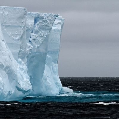 der 1. eisberg den ich sah