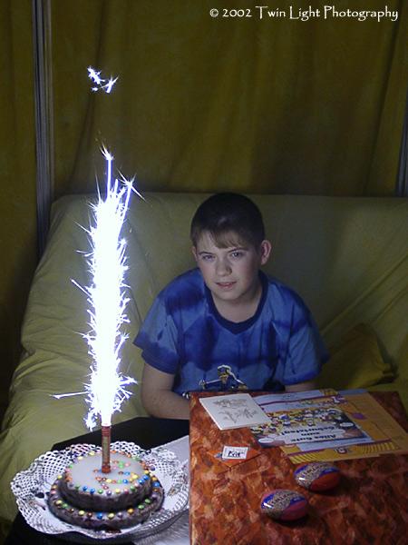Der 12. Geburtstag von meinem Sohn