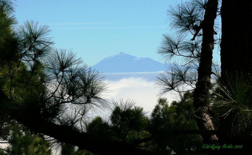 Der 135 Km entfernte Teide