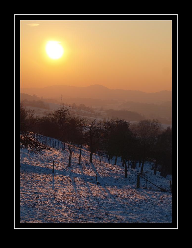 Der 392.193.459.418te Sonnenuntergang ...