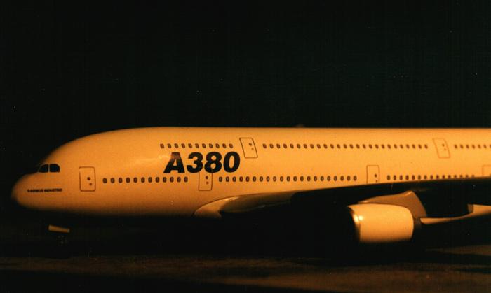 Der A380 - ein Erlkönig