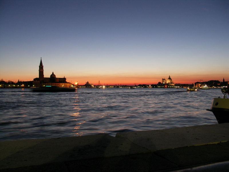 Der Abend vor dem Hochwasser......