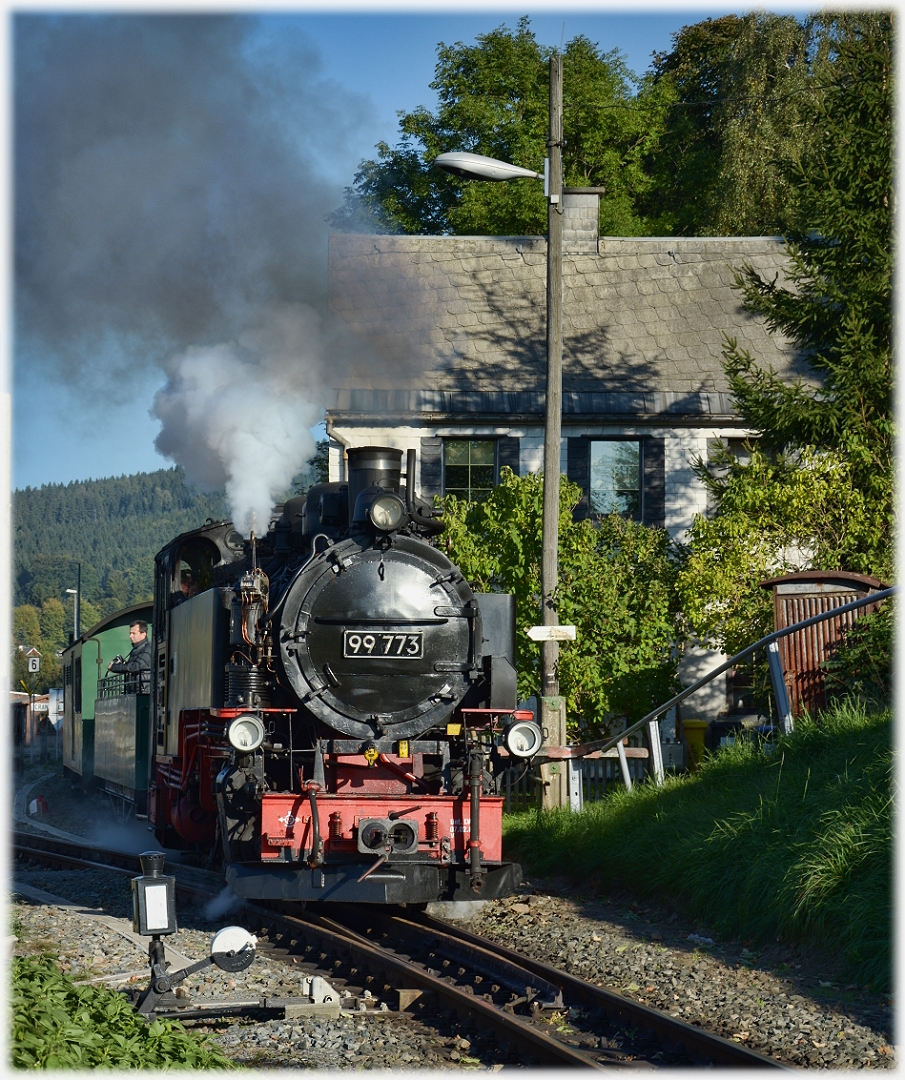 Der Abendzug nach Oberwiesental