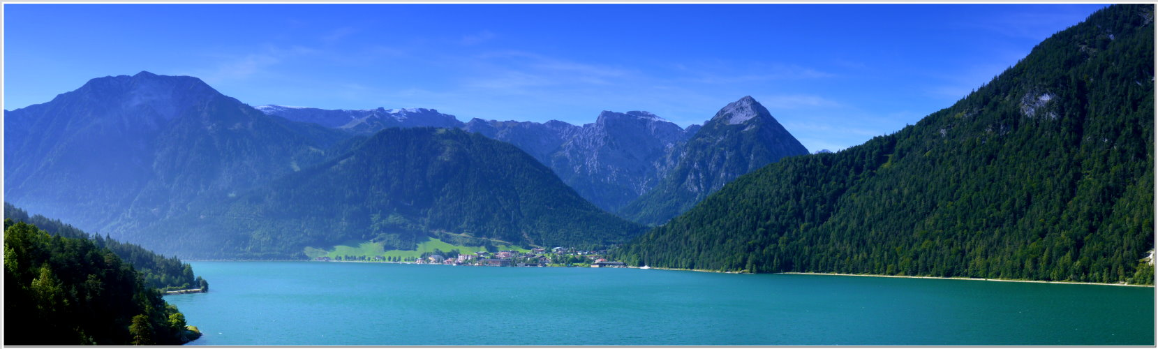 Der Achensee in Österreich