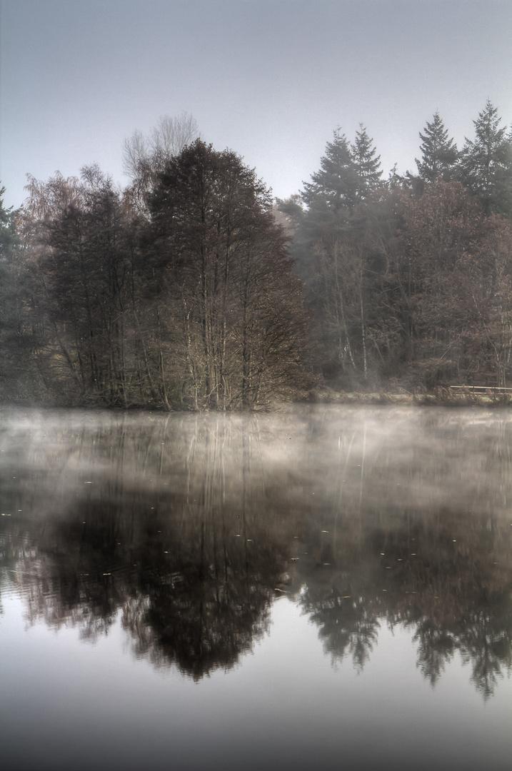 Der Ahmann See in Dötlingen