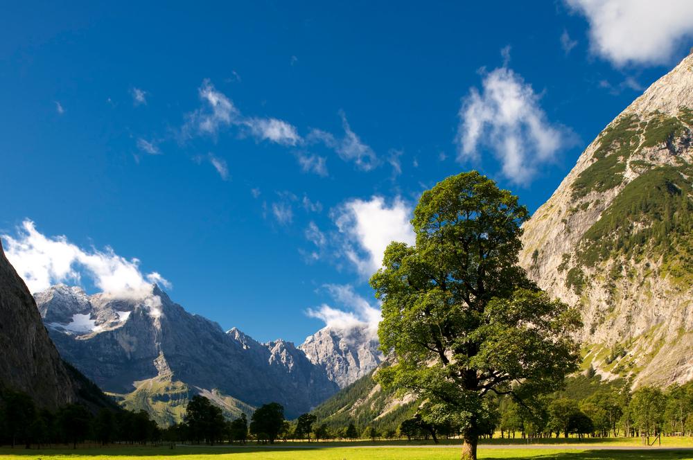 Der Ahornboden im Karwendelgebirge