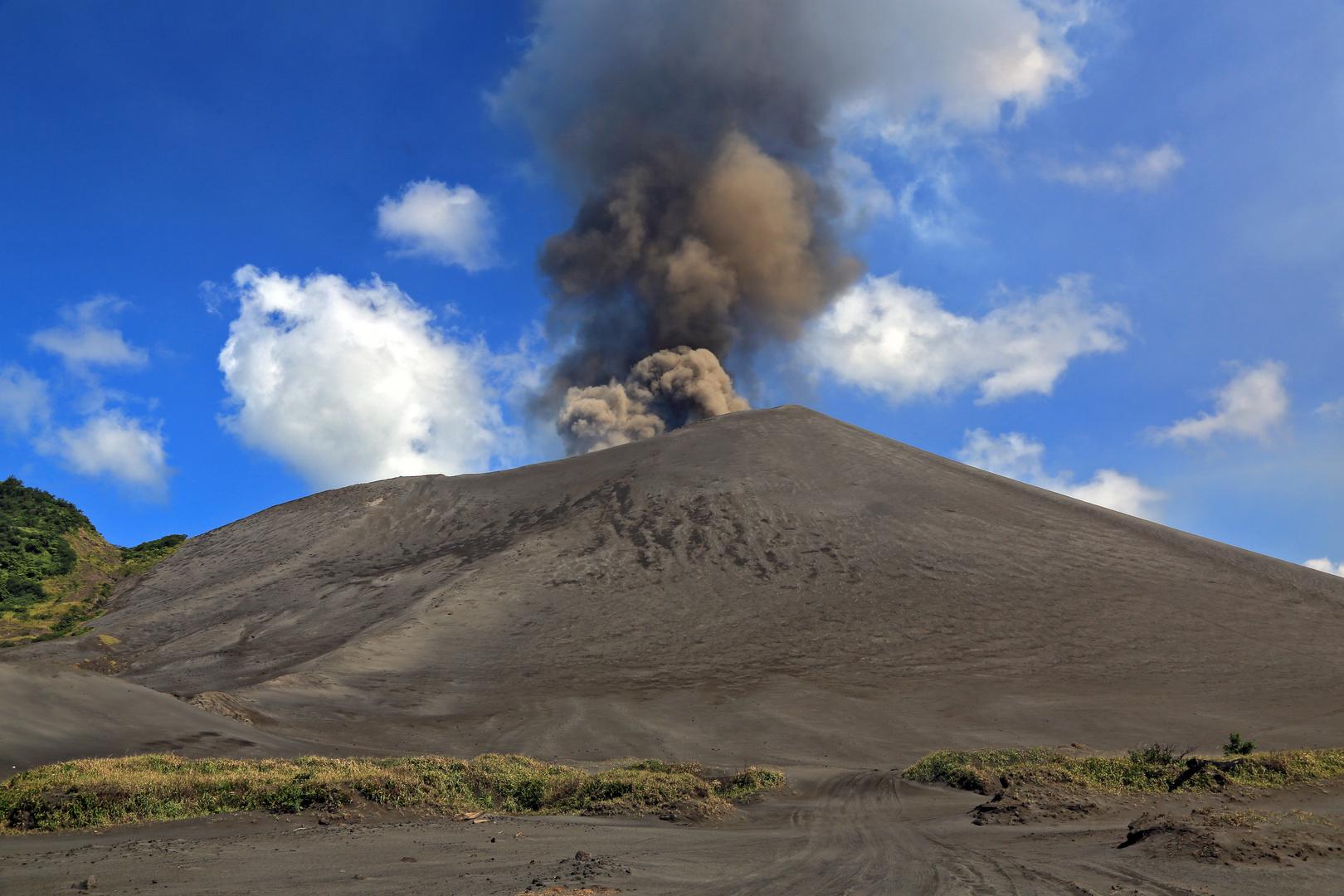 Der aktivste Vulkan der Welt- Mt.Yasur/ Vanuatu