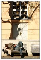 Der Albtraum des Obdachlosen