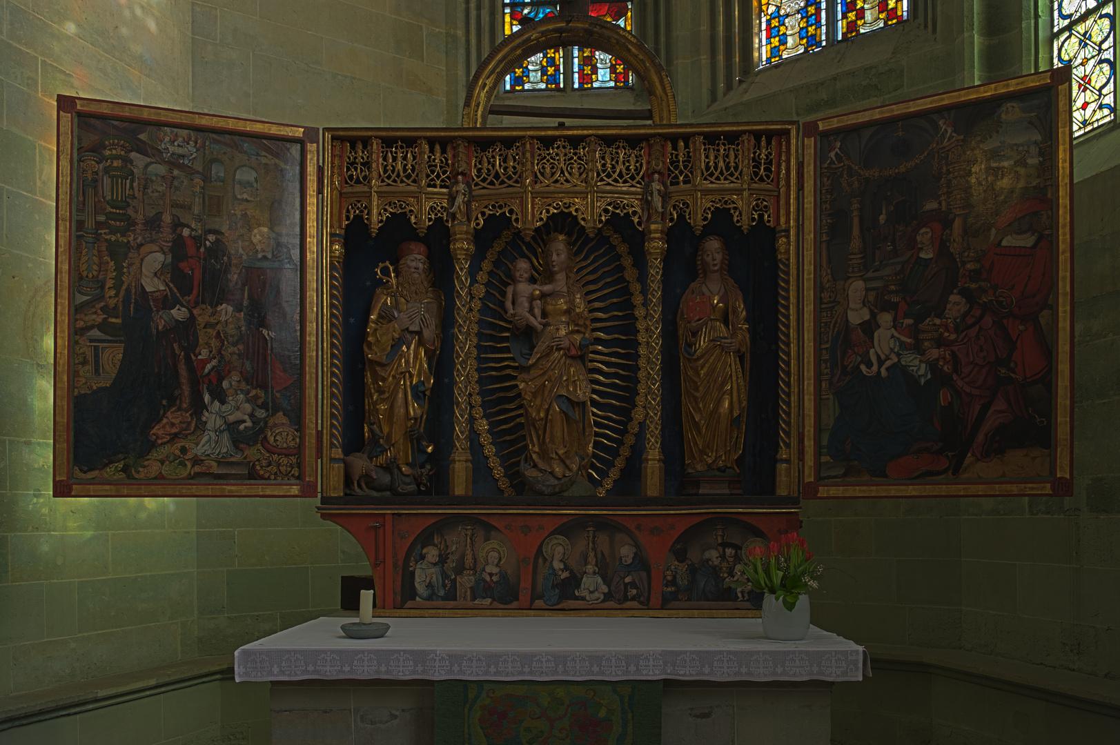 Der Aldegrever Altar in der Wiesenkirche in Soest