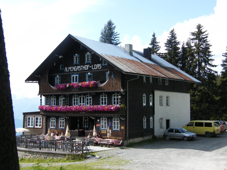 Der Alpengasthof Loas bei Schwaz