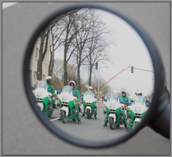 Der Alptraum jedes Motorradfahrers...