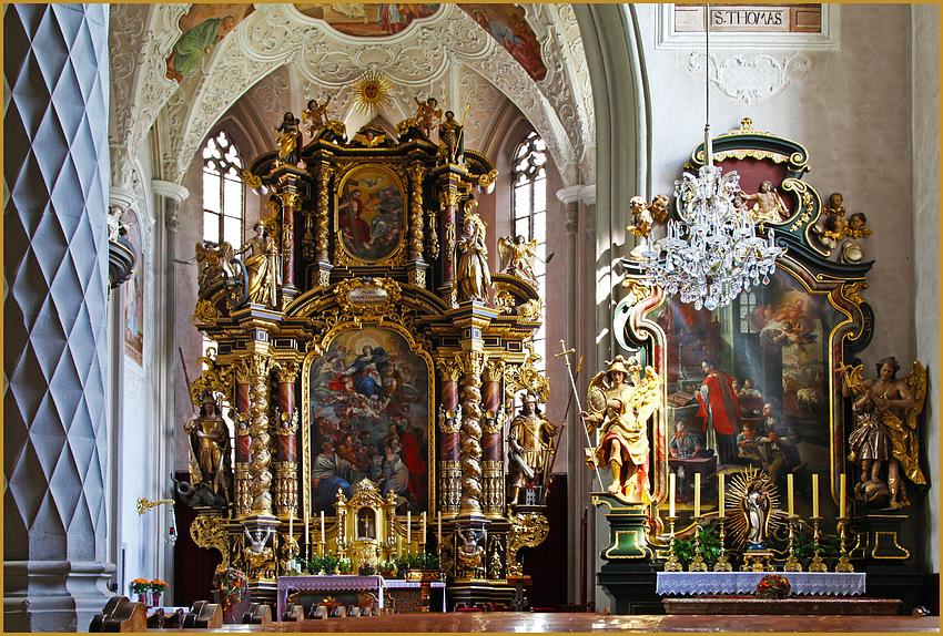 Der Altar...